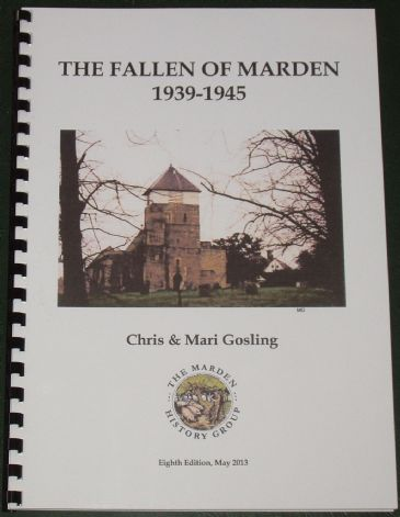 The Fallen of Marden 1939-1945, by Chris and Mari Gosling